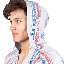 Brooklyn Surf, Men's, Mexican, Beach, Sweatshirt, Hoodie, Pullover, Sweater, Summer, French Terry