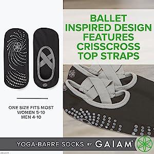 Ballet Inspired Design, Criss-Cross Straps