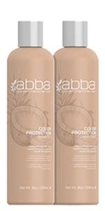 Abba, color, protection, shampoo, conditioner