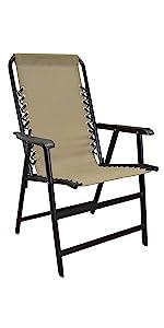 folding suspension chair