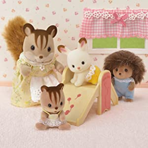 baby nursery set, toy dollhouse furniture, accessories, crib, baby chair
