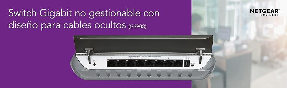 Switch de Red Gestionado, L3, Bidireccional Completo Full Duplex ...