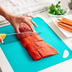 Flexible Cutting Boards, flexible cutting Mats, cutting mats, cutting boards, cutting board set