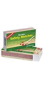 Outdoor Survival matches Uco Firestarter Kit Avec 12 ouragan Allumettes Vert