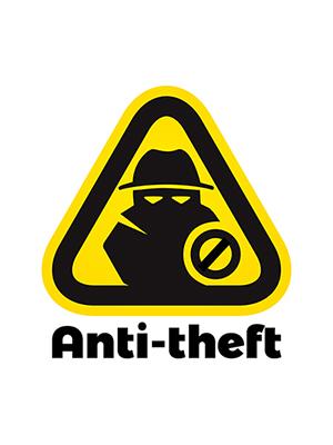 Anti-Theft Sign