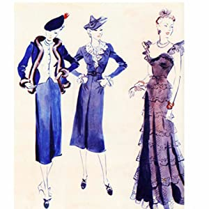 autumn 1938 collection featured colourful, gypsyinspired designs, Marie Claire, 23 September 1938