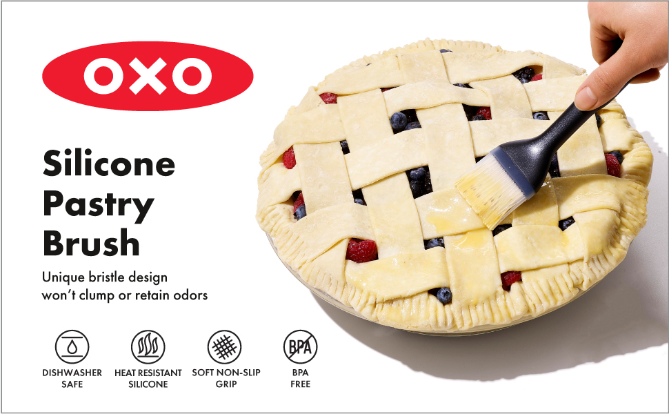 OXO Good Grips Silicone Pastry Brush