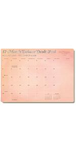 2022 Desk Pad Calendar High Note