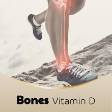 Vitamin D, normal bone and muscle function, calcium, Seven Seas