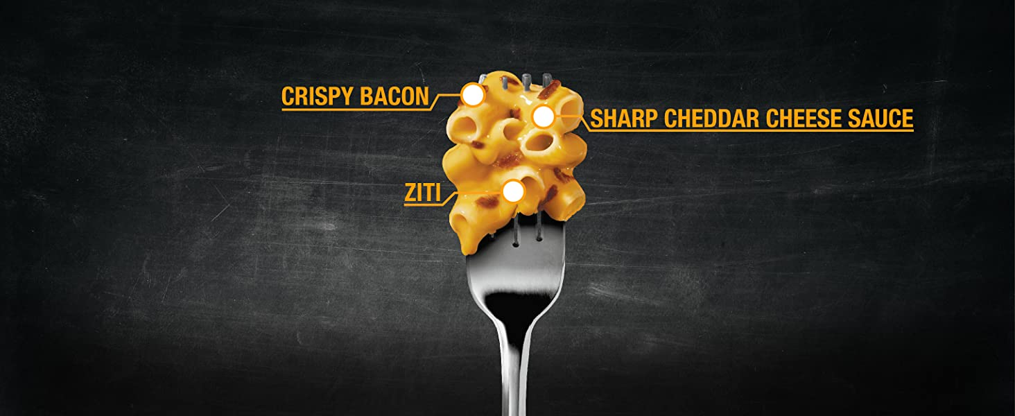 Devour Sharp Cheddar Mac amp; Cheese with Bacon
