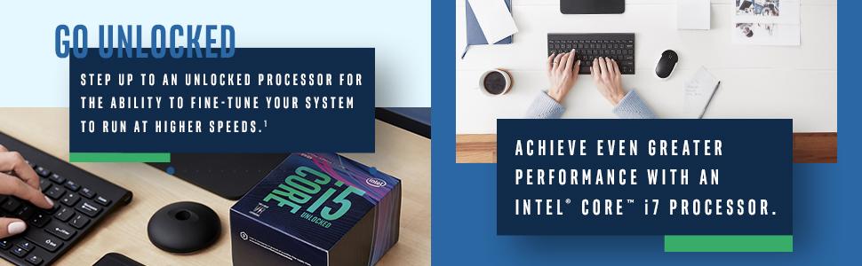 8th gen Intel Core i5-8500 processor unlocked upsell