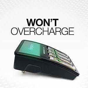 Won't Overchage, No Fire Hazard, Won't Get Too Hot, Safety, Long Term Batteries, Long Life Batteries