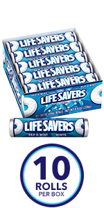 LIFE SAVERS Orange Mints Candy