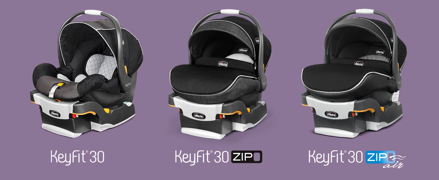 Chicco Keyfit 30 Zip Infant Child Safety Car Seat /& Base Minerale 4-30 lbs NEW