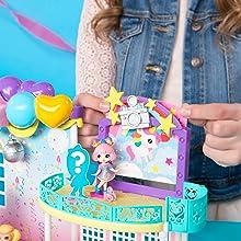 confetti, doll, surprise, figure