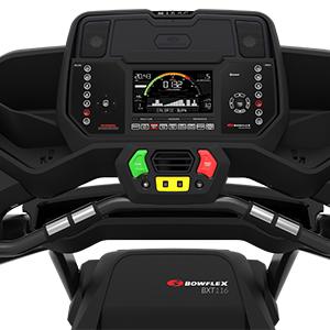 Bowflex T116 Treadmill Burn Rate Console
