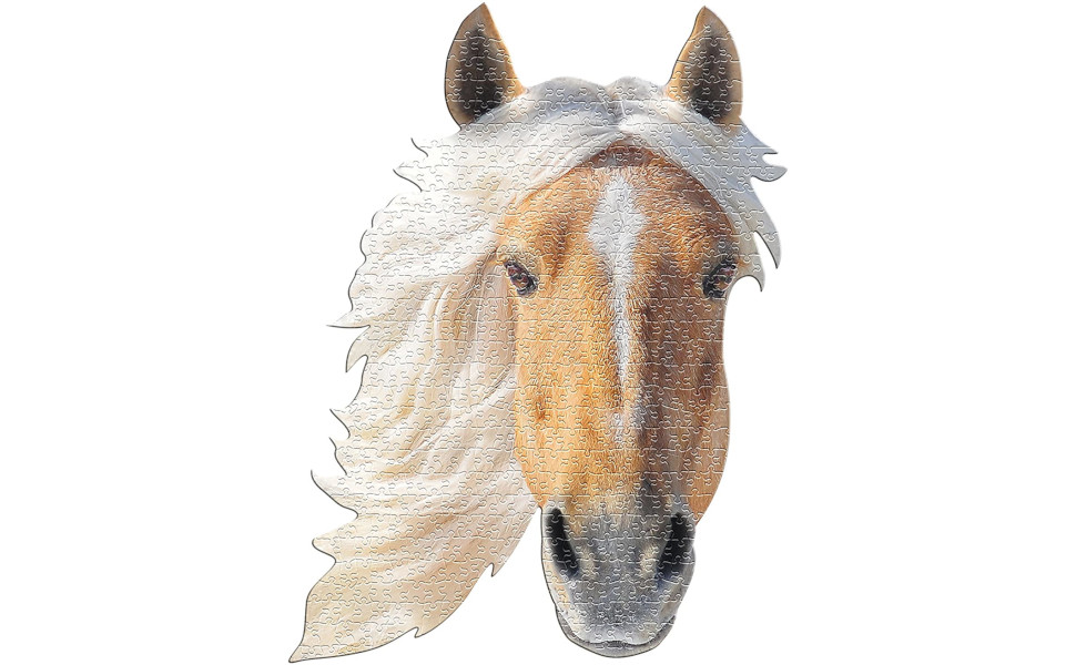 antkondnm Brown Horse Animal Puzzles for Adults 1000 Piece for Adults Teens Puzzle Game Toy Gift