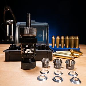 Rimfire Centerfire Rifle Pistol Kit Drill Lyman AccuTrimmer Aluminum Stainless Steel Quick