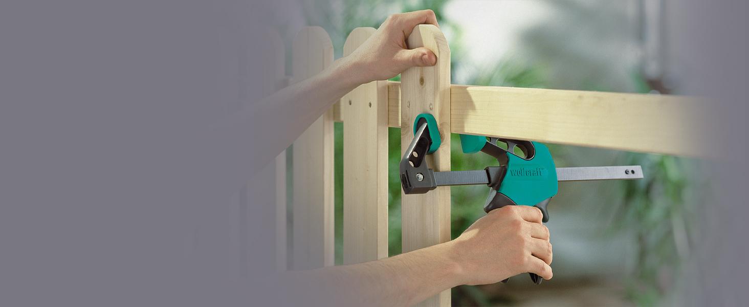 werkstattbedarf holzarbeiten schnellspannsystem spannen mit einer hand spannkraft möbel reparieren