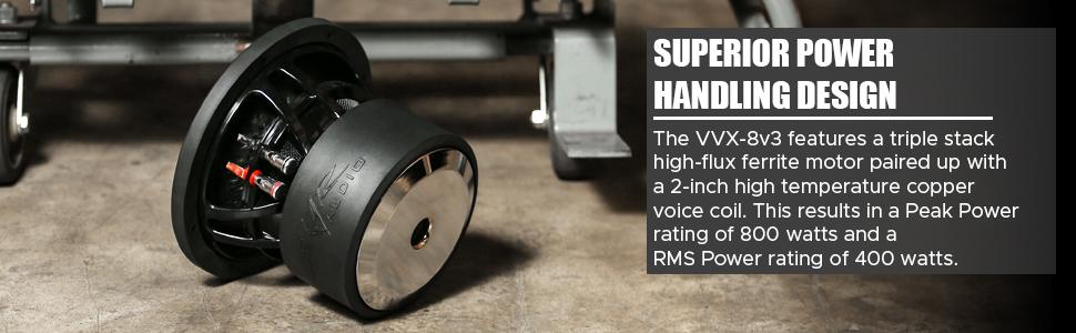 Skar Audio - VVX-8v3