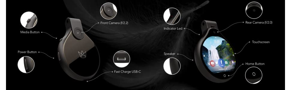 FrontRow FR Wearable Lifestyle Camera, Black 17
