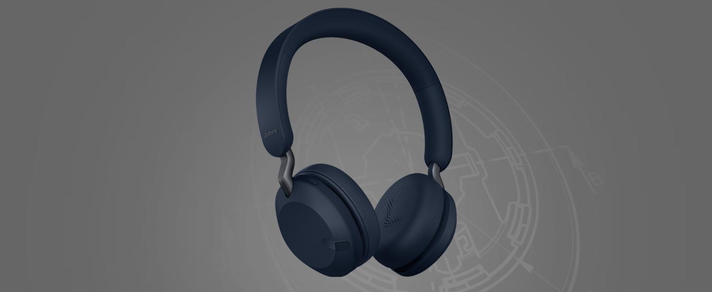 on-ear wireless headphones | Jabra Elite 45h