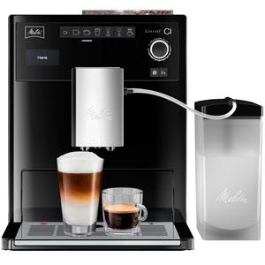 Melitta E 970-103 Caffeo Ci Cafetera Automática, 1500 W, 1.8 litros, Plástico, Negro