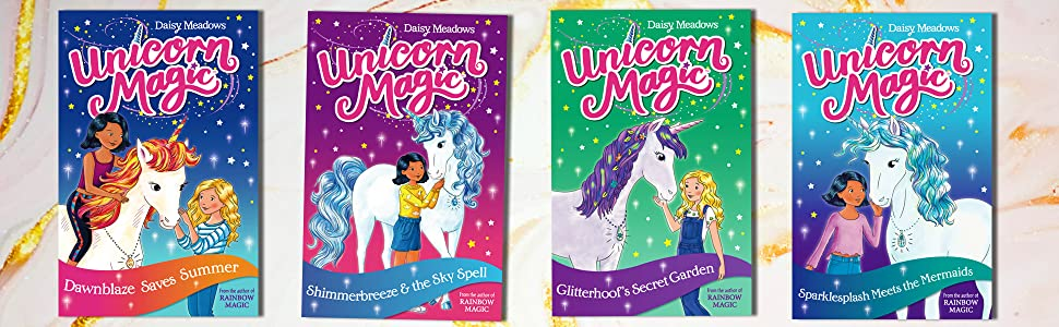 unicorn magic, rainbow magic, fairy books, fairies, adventure, pugicorn, sparkly, magical, enchanted