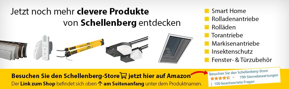 Schellenberg merk store insecten bescherming smart home rolluiken rolluiken aandrijving poort aandrijving luifel
