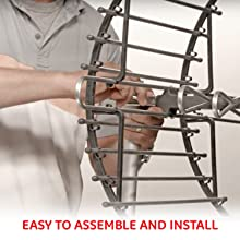 Easy to assemble and install in your attic