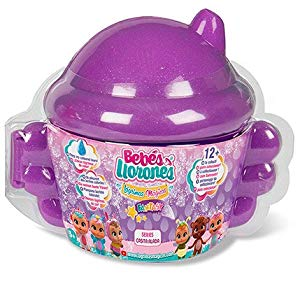 IMC Toys- Bebés Mágicas Mini-Bebé llorones lágrimas mágicas12cm, Multicolor, Bibe Casita - Surtido (98442)
