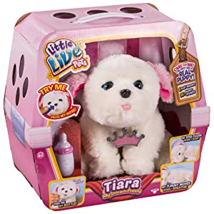 little live pets - Sleepy Puppy, Perro Interactivo, versión importada (Famosa 28185)