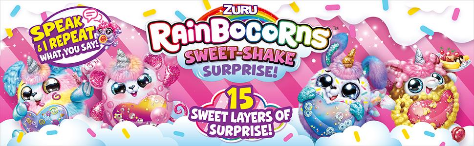 sweet shake, rainbocorns, lol surprise, unbox, pets