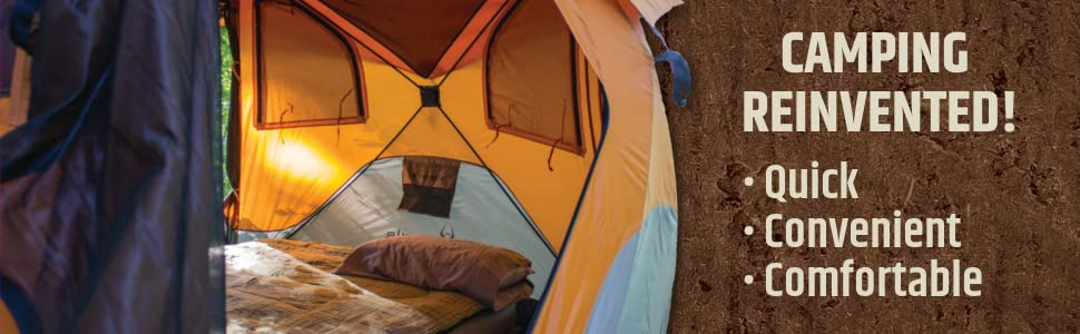 Gazelle, pop-up, hub, portable, tent, family, camping tent