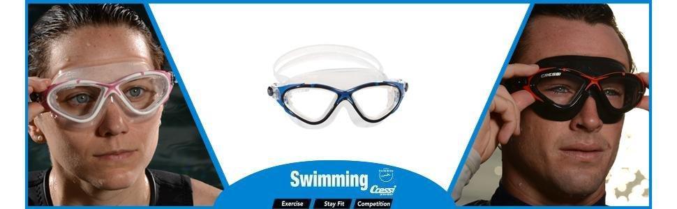 Cressi natacion piscina Gafas de natación triathlon
