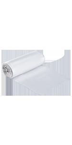 "Karat High Density 12-16 Gallon Trash Can Liner, 24"" x 33"", 6 Micron"