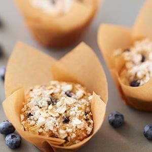 Wilton, Easy Flex Silicone Muffin Pan, blueberry oatmeal muffins recipe, breakfast muffins