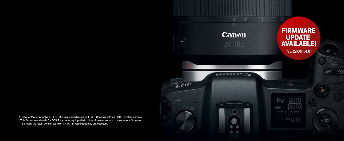 Canon EOS R Mirrorless Digital Camera System