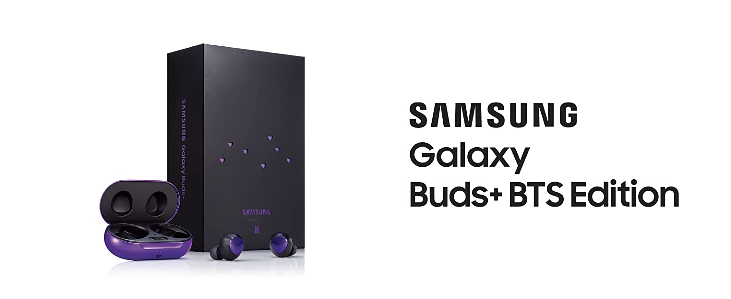 Amazon Com Samsung Galaxy Buds Wireless Charging Case Included Bts Edition Us Version