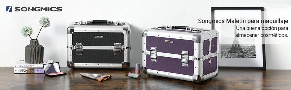 300b9492a Maletín para maquillaje Songmics® XXL grande, para equipaje, 36,5 x ...