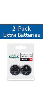 Extra Batteries, RFA-67, 6V Battery, 6 volt replacement battery
