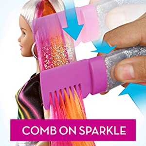 Add Sparkle and Shimmer to Hairstyles!