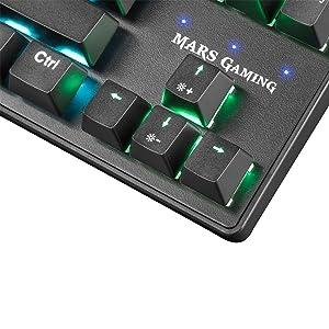 Mars Gaming Mkxtkl Mechanical Keyboard Switch Red Led 5 Elektronik