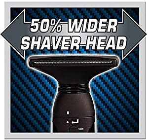 50% Wider Back Hair Shaver Blade, Big Blade, Huge Back Blade