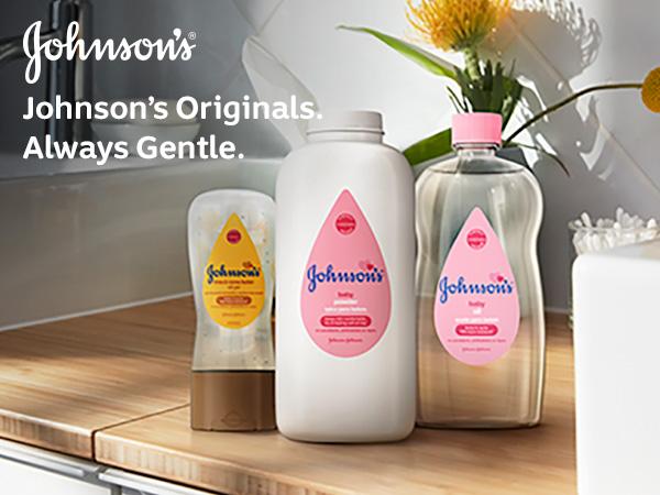 Johnson's Baby Aloe & Vitamin E Powder Originals Always Gentle