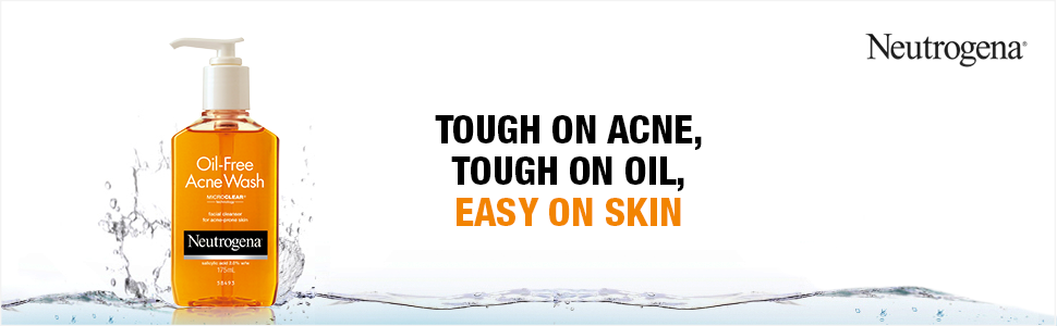 salyclic acid; acne cleanser; cleanser for acne prone skin; neutrogena oil free acne facewash