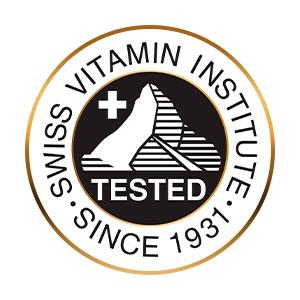 Testato dall'Istituto Svizzero della Vitamina