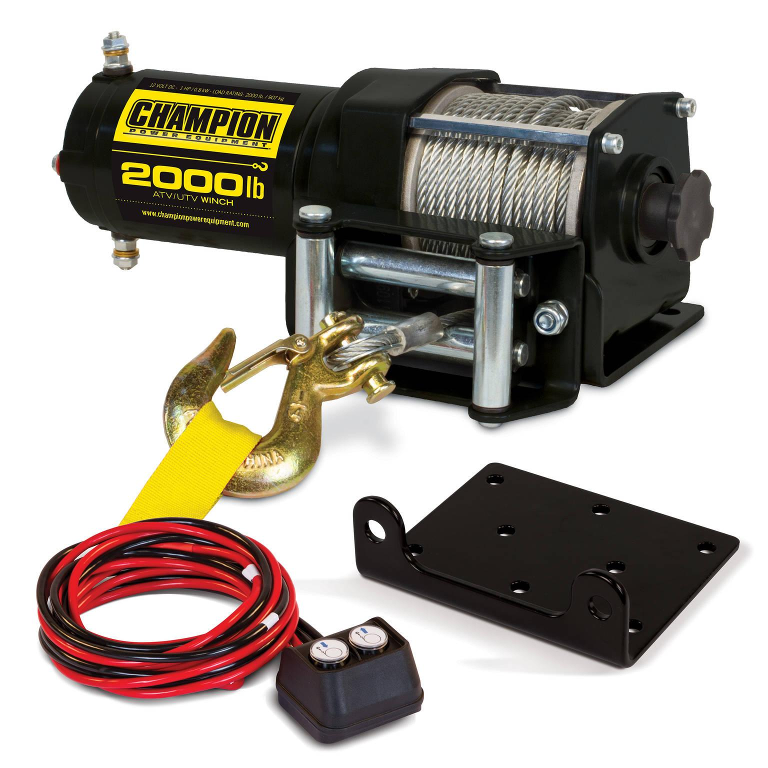 b9b62b73 5304 4992 b148 aa6ea1db19ec._SR150300_ amazon com champion 2000 lb atv utv winch kit automotive champion 3000 lb winch wiring diagram at soozxer.org