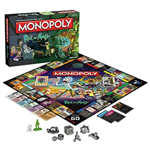 Monopoly: Rick and Morty board game