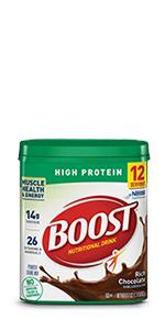 BOOST High Protein Powder Drink Mix